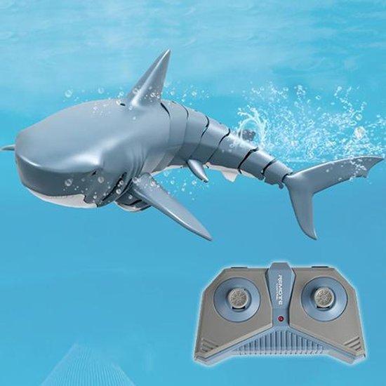 RC Haai | Op afstand bestuurbaar | Water Remote Control product | Afstandsbediening | Voor buiten |Boot | Onderwater | Voor in het zwembad