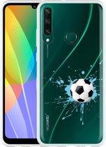 Huawei Y6p Hoesje Soccer Ball