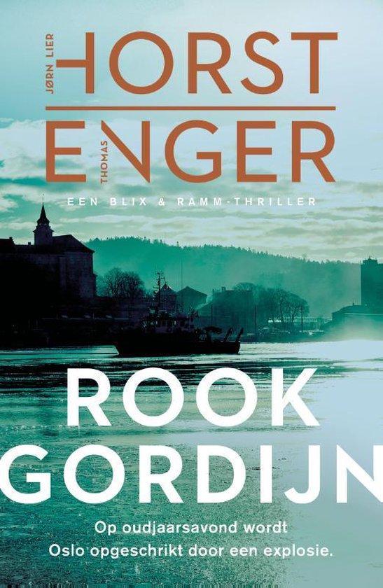 Boek cover Blix & Ramm 2 -   Rookgordijn van Jørn Lier Horst (Paperback)