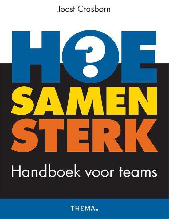 Boek cover HOE samen sterk van Joost Crasborn (Paperback)