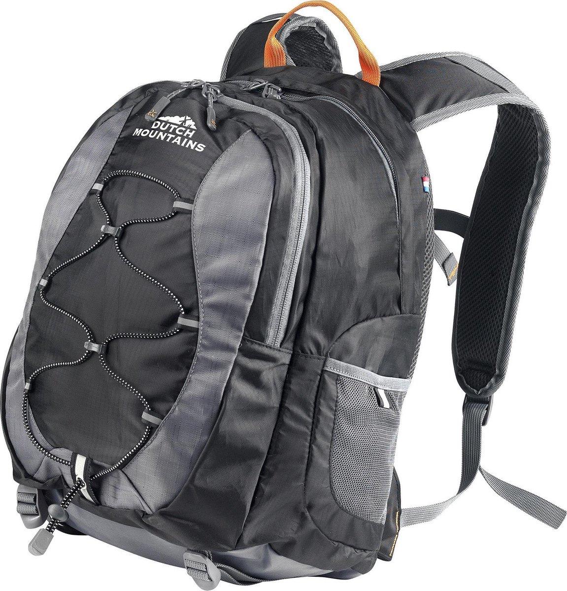 Dutch Mountains   Hunze  Backpack - Lichtgewicht Rugzak - Ingebouwde regenhoes - 18 Liter