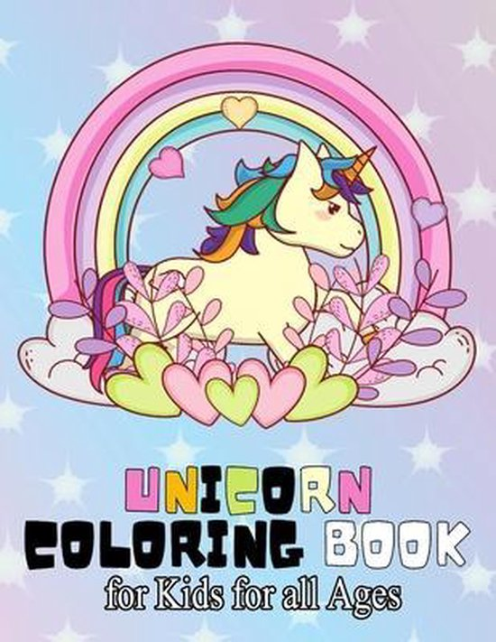 unicorn coloring book for Kids for all Ages