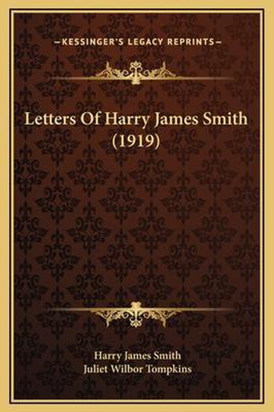 Letters of Harry James Smith (1919)