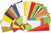 Folia Creatieve Papier Knutselkoffer A040133 - Startklaar 110 delig met lijm en schaar