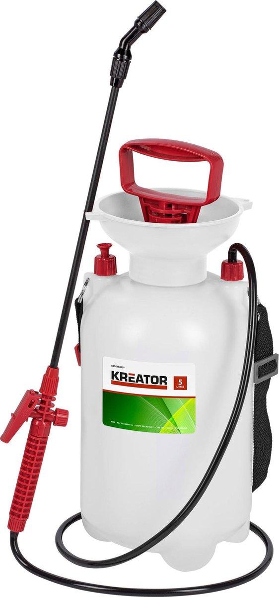 Kreator KRTGR6805V Drukspuit - Zuurbestendig - 5 L