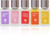 Geschenkset Miniaturen van Parfums (5 x 5 ml)