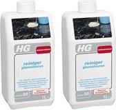 HG natuursteen reiniger glansvloeren Voor streeploos schoonmaken - 2 Stuks !