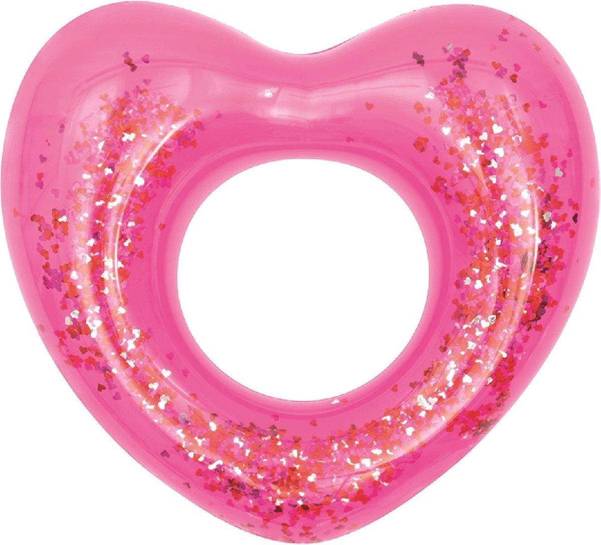 Opblaas zwemband Glitter Fusion - roze