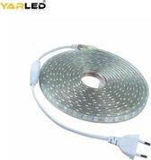 Yarled LED Strip 230V | Warm-wit 3000K| 60xSMD5050/m | 5m | IP66 | 2000Lm | led light strip