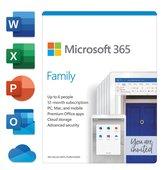 Microsoft 365 Family - Engels - 1 jaar abonnement