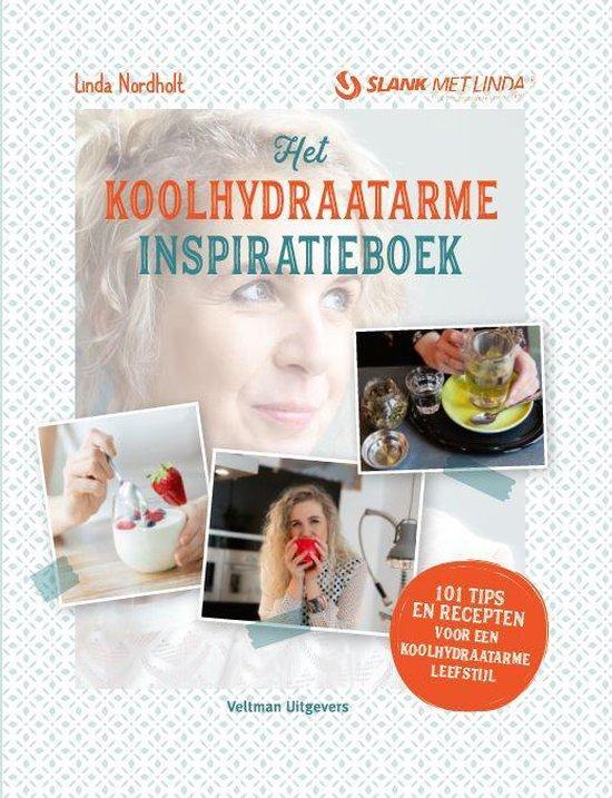Boek cover Het koolhydraatarme inspiratieboek van Linda Nordholt (Hardcover)