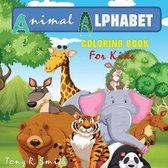 Animal Alphabet Coloring Book for kids