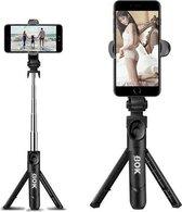 Statief Smartphone - Met Gratis Bluetooth Afstandsbediening - Tripod Smartphone - Selfie Stick - Lengte 66 cm - 3 in 1 - Telefoon Statief - Mini Statief – Zwart
