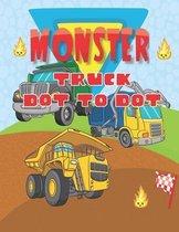 Monster Truck Dot To Dot
