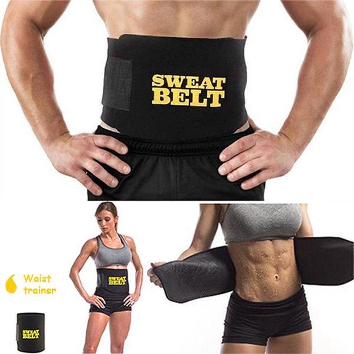 Sauna belt – Waist trainer – Waist shaper – Afslank band – Corset – Zweetband – Sweat belt – Afslank