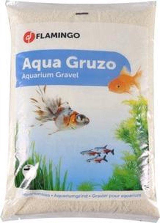 Flamingo Aquarium accessorize Grind Beach - Wit - 43 x 27