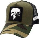 Marvel - The Punisher Logo Kaki Baseball Cap
