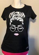 Getailleerd Normaal Dames T-shirt Maat L