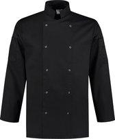 EM Kitchen Koksbuis polyester / katoen Zwart maat L / 52-54