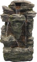 Waterornament Krka - Polystone - 60cm - Incl. pomp en LED
