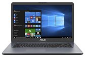 "ASUS VivoBook 17 A705MA(GML-R)-BX188T DDR4-SDRAM Notebook 43,9 cm (17.3"") 1600 x 900 Pixels Intel® Celeron® N 4 GB 256 GB SSD Wi-Fi 5 (802.11ac) Windows 10 Home Grijs"