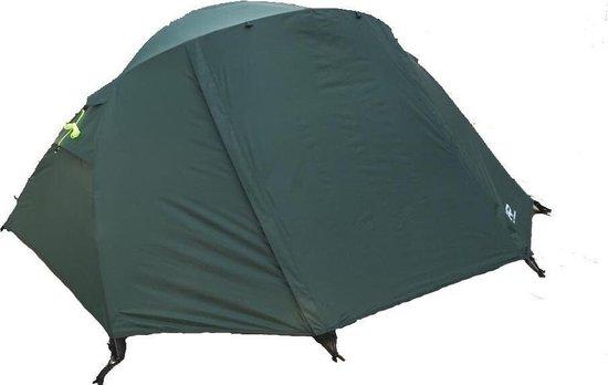 Expeditie Tent T2+ - Donker Groen - 2 Persoons