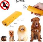 Anti Blaf Apparaat - Hondentrainer - Ultrasoon - Stop Blaffen - Honden Trainer - Geel - Rapid Meteor®