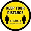 Keep distance 400 mm