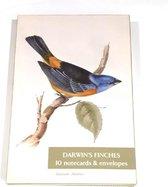 Fitzwilliam Museum Notecard Darwin's Finches - Kaartenmapje Vinken