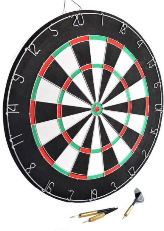 Afbeelding van het spel Dubbelzijdig XQ-max dartbord incl 6 dartpijlen