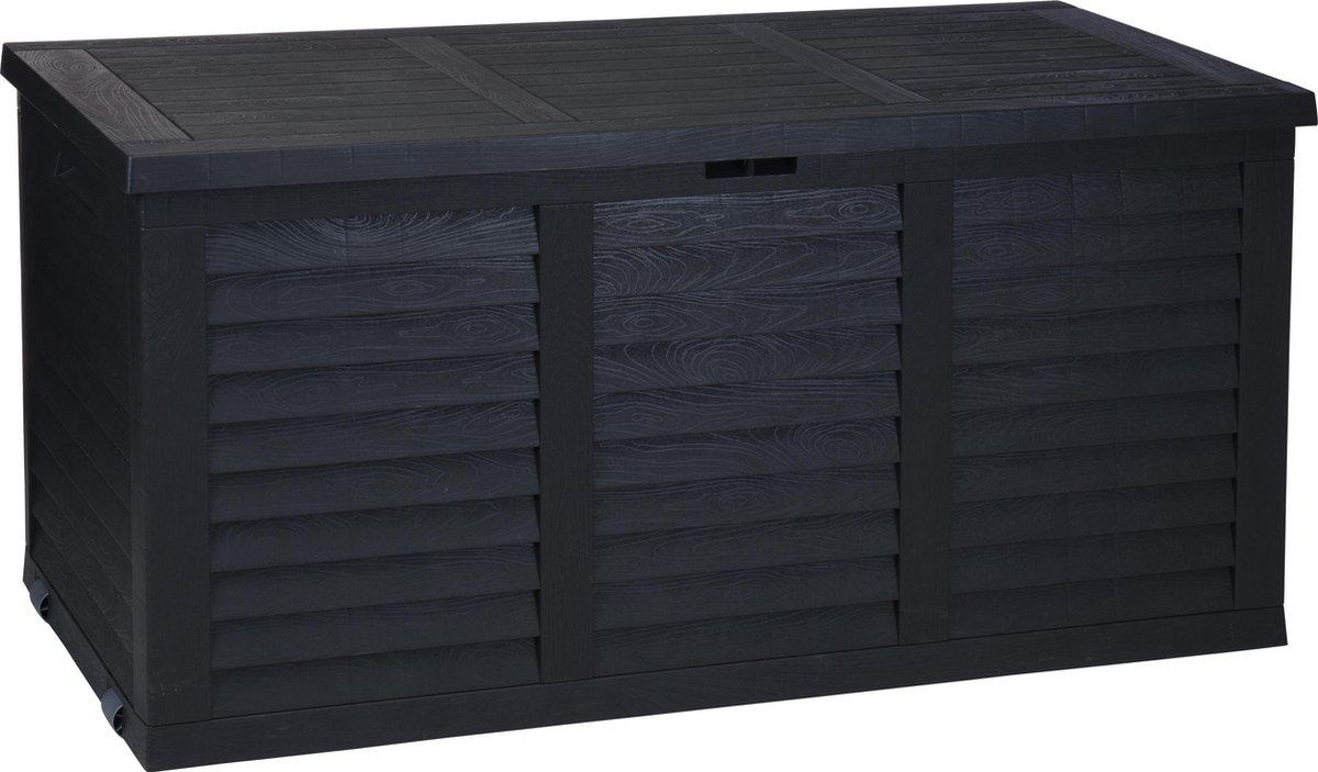 Kussenbox - Tuinkist - Antraciet - 380L