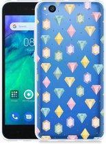 Xiaomi Redmi Go Hoesje Diamonds