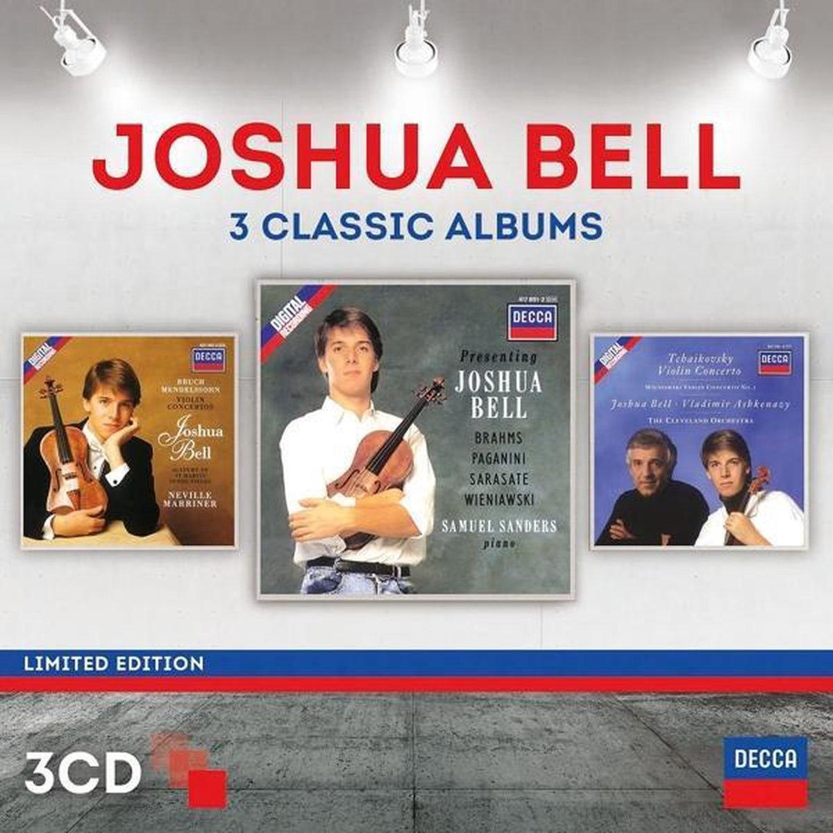 Joshua Bell - Three Classic Albums - Joshua Bell