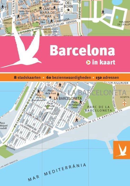 Dominicus stad-in-kaart - Barcelona in kaart - none |