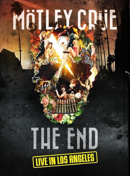 CD cover van Motley Crue - The End  Live In Los Angeles (DVD) van Motley Crue