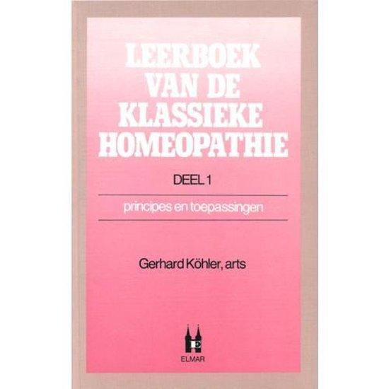 LEERBOEK KLASSIEKE HOMEOPATHIE DL 1 - Kohler |