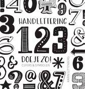 Handlettering 123 doe je zo!+ Set van 5 Pentel Handlettering Pennen in een Etui