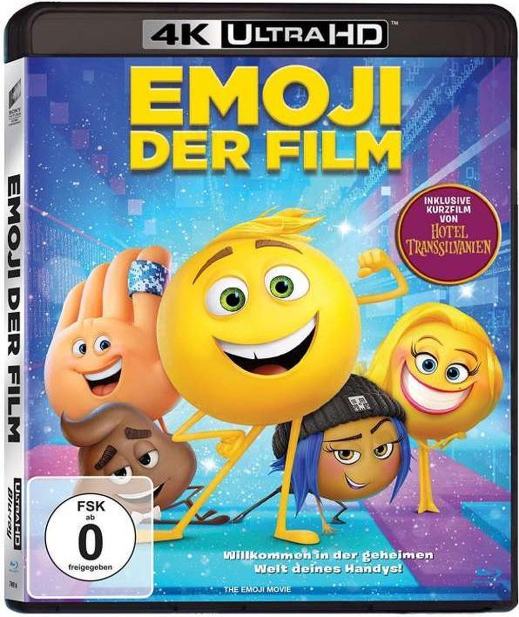 The Emoji Movie (2017) (Ultra HD Blu-ray & Blu-ray)-