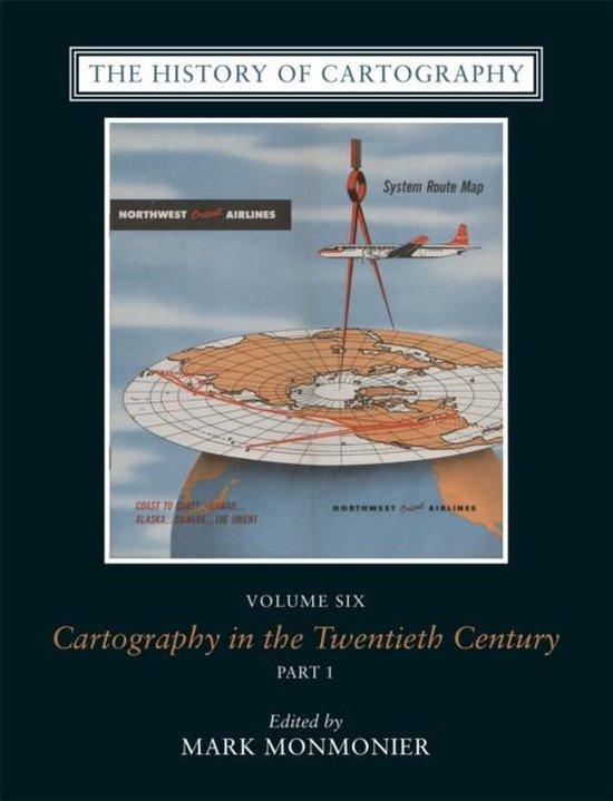 Boek cover The History of Cartography, Volume 6 van Monmonier (Hardcover)