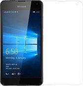 Tempered glass screen protector Microsoft Lumia 650 - Glazen screenprotector - De Hoesjes Boet