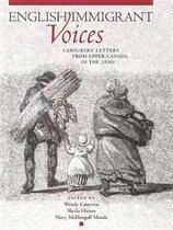 Boek cover English Immigrant Voices van Wendy Cameron