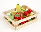 Tidlo Houten Fruit In Kistje