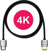 Dunne HDMI kabel 0,5 m – perfect voor 4K