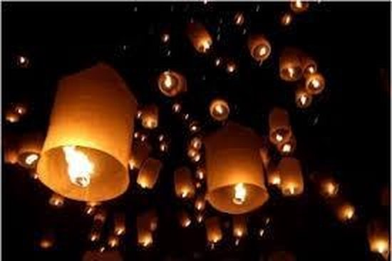 wensballon groot xxl wit