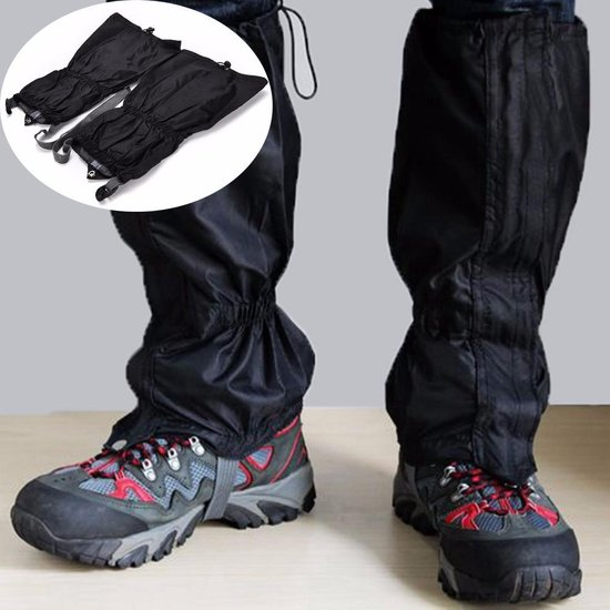 Gaiters - gamaschen - beenkappen - 39cm zwart