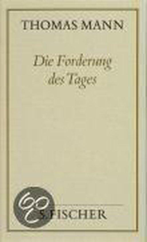 Die Forderung des Tages ( Frankfurter Ausgabe)