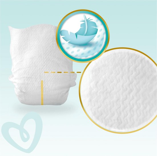 Pampers Premium Protection Luiers - Maat 0 (<3kg) - 24 stuks - Pampers