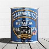Hammerite Hoogglans Zwart S060 250ML