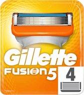 Gillette Fusion5 - 4 Stuks - Scheermesjes
