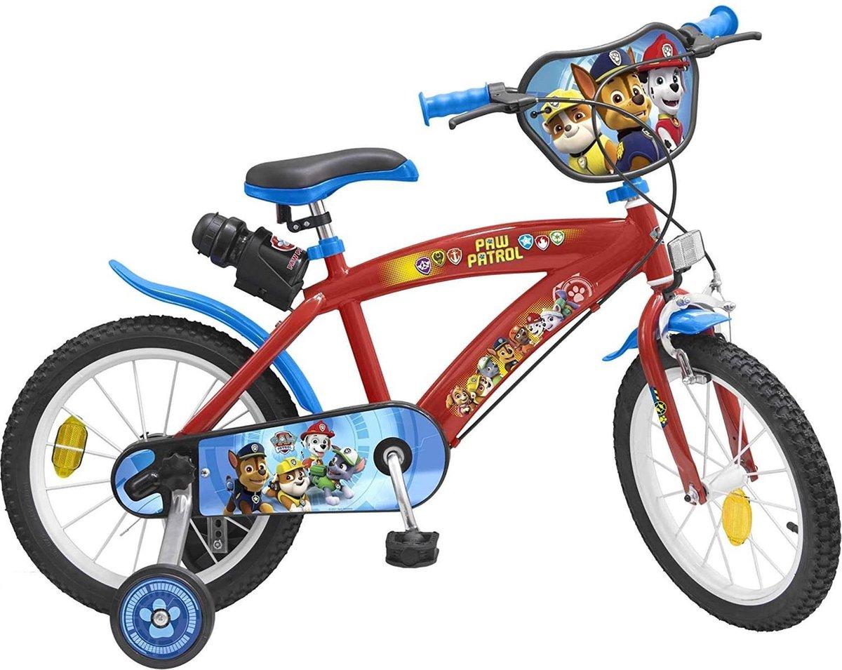 Nickelodeon Paw Patrol Kinderfiets Mannen Blauw;Rood 16 online kopen